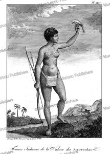 Woman of the Arawak tribe, Surinam, Tardieu L'ai^ne´, 1785 | Photos and Images | Travel