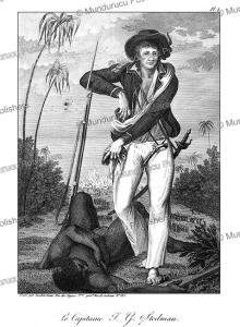 Captain John Stedman and a dead Negro in Surinam, Tardieu L'ai^ne´, 1784 | Photos and Images | Travel