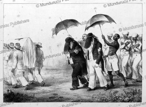 Slaves in mourning, Surinam, Pierre Jacques Benoit, 1839 | Photos and Images | Travel