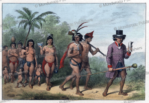 Marching tribe in Surinam, Jean Baptiste Madou, 1840 | Photos and Images | Travel