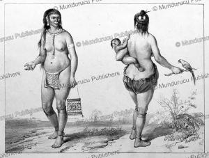 Indian women, Surinam, Pierre Jacques Benoit, 1839 | Photos and Images | Travel