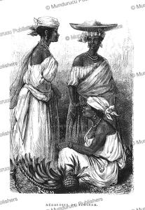 Negro women of Surinam, Dutch Guiana, E´douard Riou, 1867 | Photos and Images | Travel