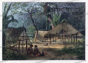 Village in Surinam, Jean Baptiste Madou, 1840 | Photos and Images | Travel