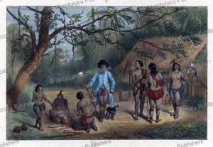 Indian Family, Surinam, Pierre Benoit, 1839 | Photos and Images | Travel