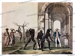 The punishment of slaves at a plantation in Surinam, C. Bramati, 1816   Photos and Images   Travel