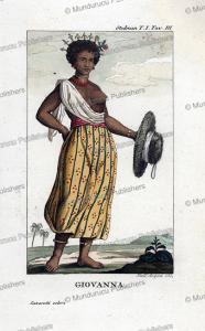 Joanna, a black slave, Surinam, Dall'Acqua, 1818   Photos and Images   Travel
