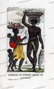 Family of Negro slaves, Surinam, John Stedman, 1818 | Photos and Images | Travel