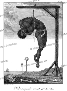 Negre´ suspendu vivant, par les co^tes, Surinam, Tardieu L'ai^ne´, 1784 | Photos and Images | Travel