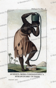 Female slave chained, Surinam, Dall'Acqua, 1818 | Photos and Images | Travel