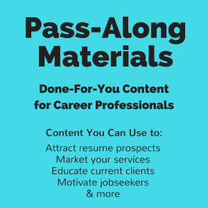 linkedin settings for jobseekers pass-along materials