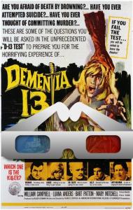 dementia 13 3d stereoscopic & fullscreen versions
