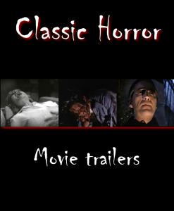 110 vintage horror movie trailers dvds- vampires, blood, beasts, gore, killers