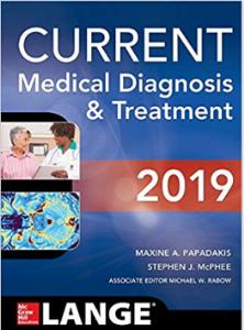 current medical diagnosis and treatment 2019 pdf book