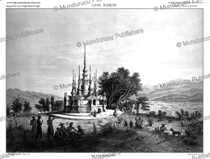 A Tat (Pagoda) near Muong Long, Laos, Louis Delaporte, 1873 | Photos and Images | Travel