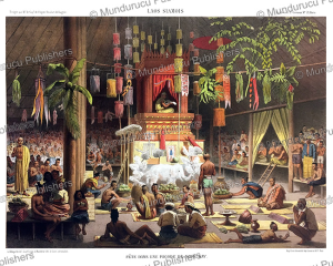 Moon festival in the pagoda of Nong Khai, Laos, Louis Delaporte, 1873 | Photos and Images | Travel