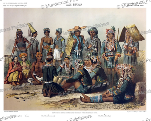 inhabitants of the lao kingdoms of xieng thong and xiangkhouang, laos, janet lange, 1873