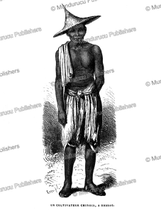 a farmer from bassac (champassac), laos, janet lange, 1873