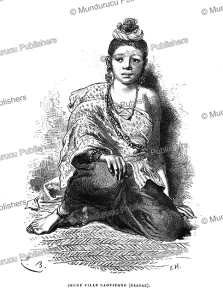 A young Laotian girl (Champassac), Laos, Emile Bayard, 1873 | Photos and Images | Travel