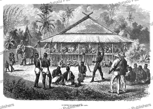 caning in laos, janet lange, 1873