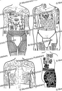 Tattoo patterns, Laos, Paul Le´vy, 1941 | Photos and Images | Travel