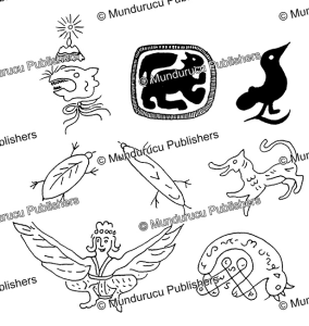 tattoo designs of fabulous creatures against bad luck, phamcongsuu, 1970