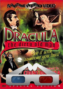 dracula the dirty old man movie on cd. normal, 3d stereoscopic & side by side