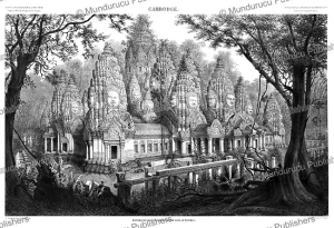 The ruins of the Bayon, a Khmer temple at Angkor in Cambodia, Louis Delaporte, 1873 | Photos and Images | Travel
