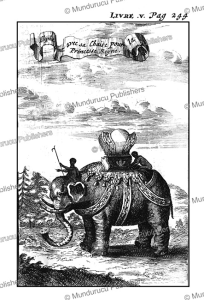 the elephant of the princess of siam, 1687