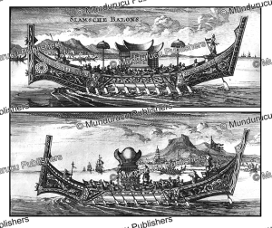 Imperial boats of Siam (Thailand), A. Bogaerts, 1711 | Photos and Images | Travel