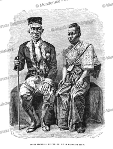 Rama IV or King Mongkut of Siam and his queen, 1873 | Photos and Images | Travel