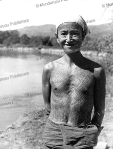 A fully tattooed Lao man from Thailand, 1962 | Photos and Images | Travel