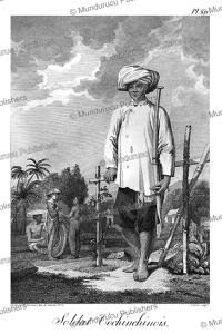 soldier of cochin-china (vietnam), tardieu l'ai^ne´.tif