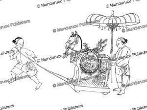 Pagoda horse, Vietnam, G. Dumoutier, 1891.tif | Photos and Images | Travel