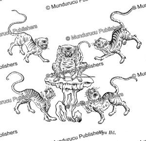the five tigers, emblem for power, vietnam, g. dumoutier, 1891.tif