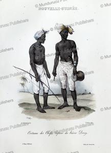 Dress of Papua chiefs of Dorey Harbour, Louis Auguste de Sainson, 1834 | Photos and Images | Travel