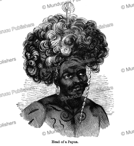 Head of a Papua, James Cowles Prichard, 1848 | Photos and Images | Travel