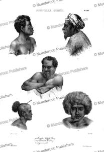 Natives of Papua New Guinea, Louis Auguste de Sainson, 1833 | Photos and Images | Travel