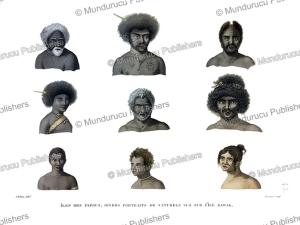 Natives of Rawak Island (Rauki Island), Papua New Guinea, Alphonse Pellion, 1820   Photos and Images   Travel