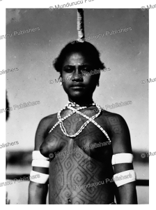 Waropen girl with tattoos, Papua New Guinea, 1937 | Photos and Images | Travel
