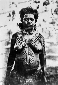 Tattooed Motu girl, Papua New Guinea, 1931 | Photos and Images | Travel