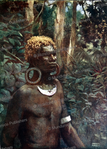 Rubiana native, Papua New Guinea, Norman Hardy, 1907 | Photos and Images | Travel
