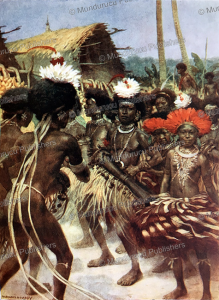 The Harvest Dance, Papua New Guinea, Norman Hardy, 1907 | Photos and Images | Travel