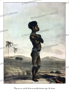 Ten year old boy of Papua New Guinea, William Daniell, 1824 | Photos and Images | Travel