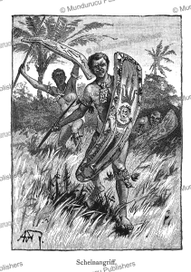 Warriors from Finschhafen, Papua New Guinea, M. Hoffmann, 1879   Photos and Images   Travel