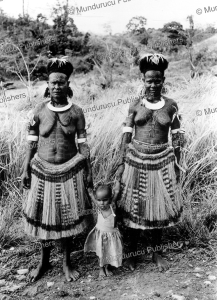 Mother and daughter from Port-Moresby, Papua New Guinea, 1962 | Photos and Images | Travel