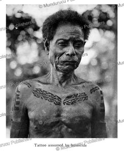 Koita tattoo design reserved for headhunters, Papua New Guinea, C.G. Seligmann, 1910 | Photos and Images | Travel