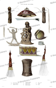 Idols and utensils of Papua New Guinea, Louis Auguste de Sainson, 1834 | Photos and Images | Travel