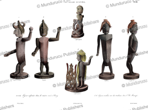 Idols from New Guinea, Louis Auguste de Sainson, 1834 | Photos and Images | Travel