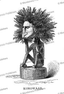 Korowaar, an idol of Papua New Guinea, Edward Whymper, 1889 | Photos and Images | Travel