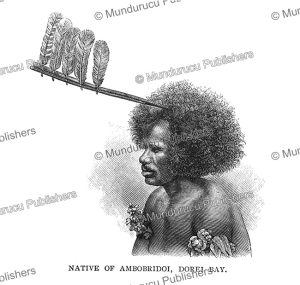 Native of Ambobridoi, Dorey Habour, Papua New Guinea, Edward Whymper, 1889   Photos and Images   Travel